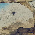 Vianden Through A Spider's Web by Victor Hugo