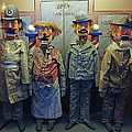 VICTORIAN MUSEE MECANIQUE AUTOMATED PUPPETS - SAN FRANCISCO Print by Daniel Hagerman