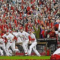 Victory - St Louis Cardinals Win The World Series Title - Friday Oct 28th 2011 by Dan Haraga
