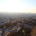 View From Basilica Of The Sacred Heart Of Paris - Sacre Coeur - Paris France - 011314 by DC Photographer