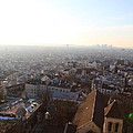 View From Basilica Of The Sacred Heart Of Paris - Sacre Coeur - Paris France - 011316 by DC Photographer
