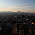 View From Basilica Of The Sacred Heart Of Paris - Sacre Coeur - Paris France - 011317 by DC Photographer
