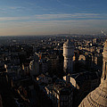 View From Basilica Of The Sacred Heart Of Paris - Sacre Coeur - Paris France - 011321 by DC Photographer