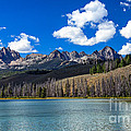 View From Little Redfish Lake by Robert Bales