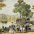 View From The North Bank Of The Serpentine by Philip Brannan