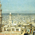 View Of Cairo by Jean Leon Gerome