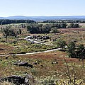 View of Devils Den from Little Roundtop I Gettysburg Print by Jim Vansant
