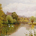 View Of Windsor From The Thames by John Atkinson