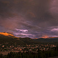 View Over Breckenridge by Michael J Bauer