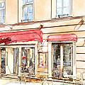 Vilnius Windows 3 by Yury Malkov