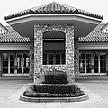 Vineyard Creek Hyatt Hotel Santa Rosa California 5d25792 Bw by Wingsdomain Art and Photography