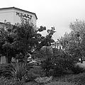 Vineyard Creek Hyatt Hotel Santa Rosa California 5d25795 Bw by Wingsdomain Art and Photography