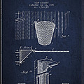 Vintage Basketball Goal Patent From 1925 by Aged Pixel