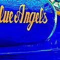 Vintage Blue Angel by Benjamin Yeager