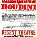 Vintage Challenge Houdini Poster by Wingsdomain Art and Photography