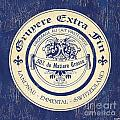 Vintage Cheese Label 5 by Debbie DeWitt