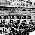 Vintage Comiskey Park - Historical Chicago White Sox Black White Picture by Horsch Gallery
