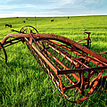 Vintage Farm Equipment II - Blue Ridge by Dan Carmichael