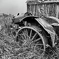 Vintage Farm Tractor by Theresa Tahara