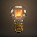 Vintage Light Bulb by Scott Norris