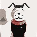 Vintage Lucky Dog by Jennifer Rondinelli Reilly - Fine Art Photography