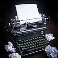 Vintage Manual Typewriter by Edward Fielding