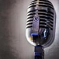 Vintage Microphone 2 by Scott Norris
