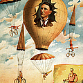 Vintage Nostalgic Poster - 8036 by Wingsdomain Art and Photography