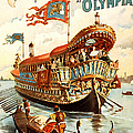 Vintage Nostalgic Poster - 8050 by Wingsdomain Art and Photography
