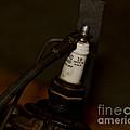 Vintage Number 18 Spark Plug by Wilma  Birdwell