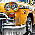 Vintage NYC Taxi Print by John Farnan