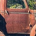 Vintage Old Rusty Truck Print by Edward Fielding