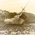 Vintage Shipwreck  by Artist and Photographer Laura Wrede