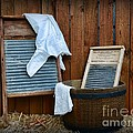 Vintage Washboard Laundry Day by Paul Ward