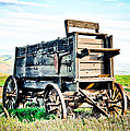 Vintaged Covered Wagon by Athena Mckinzie