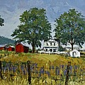 Virginia Highlands Farm by Peter Muzyka