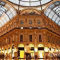 Vittorio Emanuele II Gallery Milan Italy by Michal Bednarek