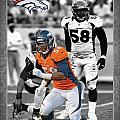 Von Miller Broncos by Joe Hamilton