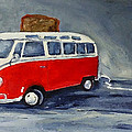 Vw Bus Toaster by Sunny Avocado