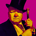W C Fields 20130217 Print by Wingsdomain Art and Photography