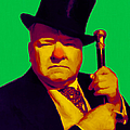W C Fields 20130217p180 Print by Wingsdomain Art and Photography