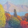 Walter Peak Queenstown NZ Print by Terry Perham