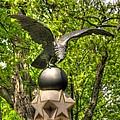 War Eagles - 29th Pennsylvania Infantry Slocum Avenue South Culp's Hill Spring Gettysburg by Michael Mazaika