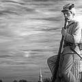 War Fighters - 149th Pa Infantry 1st Regiment Bucktail Brigade-a1 Near Mc Pherson Barn Gettysburg by Michael Mazaika