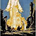 War Poster - WW1 - Christians Support Red Cross Print by Benjamin Yeager
