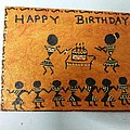 Warli Birthday by Deepika B