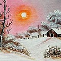 Warm Winter Day After Bob Ross by Barbara Griffin