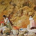 Washerwomen by Karol Wyckoff