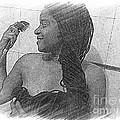 Washing All That Hair by Fania Simon