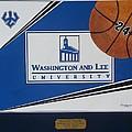 Washington Lee Univ. Basketball Print by Herb Strobino